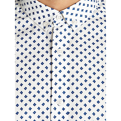 Buy Kin by John Lewis Cushion Print Short Sleeve Shirt Online at johnlewis.com