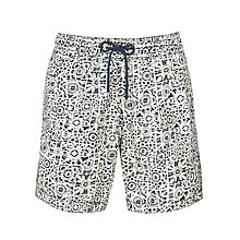 Buy John Lewis Tile Print Swim Shorts Online at johnlewis.com