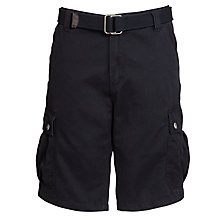 Buy John Lewis Belted Cargo Shorts Online at johnlewis.com