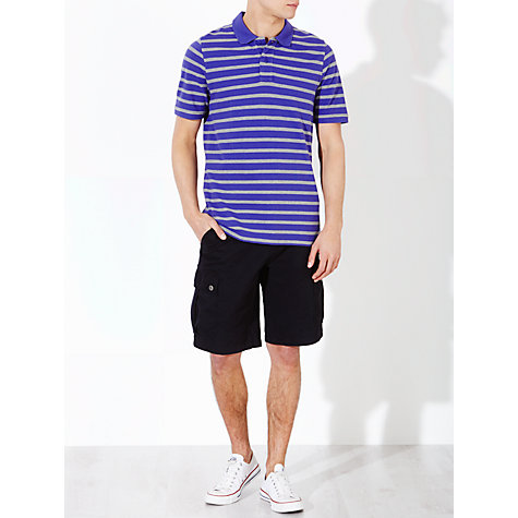 Buy John Lewis Breton Stripe Organic Short Sleeve Polo Shirt Online at johnlewis.com