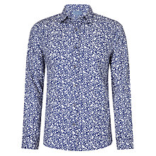 Buy John Lewis Floral Ditsy Archive Print Shirt, Cobalt Blue Online at johnlewis.com