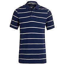 Buy John Lewis Organic Single Stripe Polo T-Shirt Online at johnlewis.com