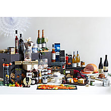 Buy John Lewis Christmas Extravaganza Leather Trunk Fresh Hamper Online at johnlewis.com