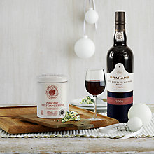 Buy John Lewis Port & Stilton Fresh Hamper Online at johnlewis.com
