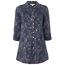 Buy White Stuff Hill Top Shirt, Dark Sky Blue Online at johnlewis.com