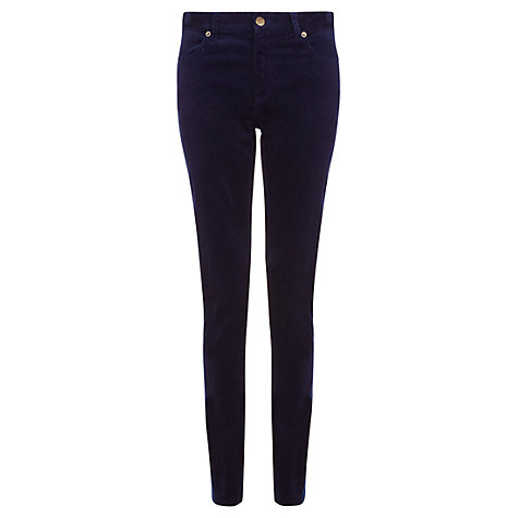 Buy Jigsaw Super Stretch Corduroy Jeans, Blue Online at johnlewis.com