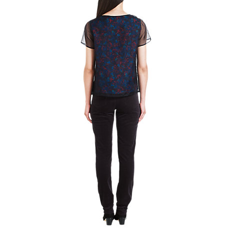 Buy Jigsaw Super Stretch Corduroy Jeans, Grey Online at johnlewis.com