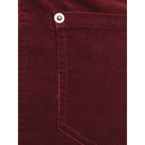 Buy Jigsaw Super Stretch Corduroy Jeans, Red Online at johnlewis.com