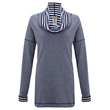 Buy Jigsaw Reversible Stripe Top, Navy Online at johnlewis.com