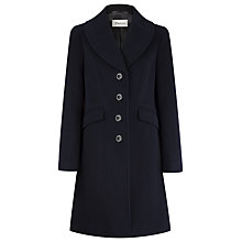 Buy Precis Petite Wool Blend Coat, Black Online at johnlewis.com