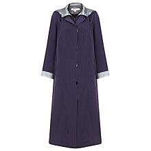Buy Jacques Vert Full Length Mac, Purple Online at johnlewis.com