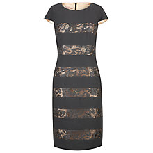 Buy Jacques Vert Tiered Lace Shift Dress Online at johnlewis.com