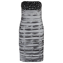 Buy Alexon Jewel Embellished Dress, Silver Online at johnlewis.com