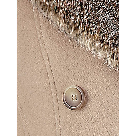 Buy Precis Petite Long Wool Coat, Neutral Online at johnlewis.com