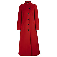 Buy Windsmoor Long Fit and Flare Coat, Red Online at johnlewis.com