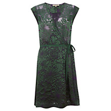 Buy Jigsaw Devore Dress, Green Online at johnlewis.com