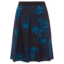 Buy Jigsaw Blackstorm Print Skirt, Blue/Black Online at johnlewis.com