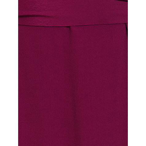 Buy Jigsaw Wrap Dress, Raspberry Online at johnlewis.com