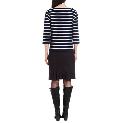 Buy Jigsaw Stretch Cotton Corduroy Skirt Online at johnlewis.com