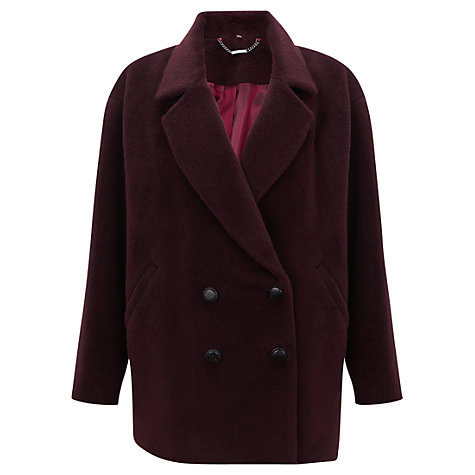 Buy Jigsaw Llama Coat Online at johnlewis.com