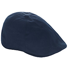 Buy Fred Perry Panelled Flat Cap, Navy Online at johnlewis.com