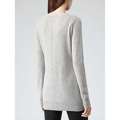 Buy Reiss Cashmere Longline Cardigan Online at johnlewis.com