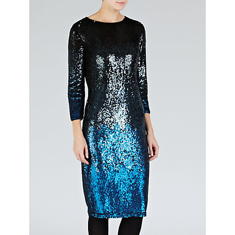 Buy Needle & Thread Gloss Midi Dress, Multi Online at johnlewis.com