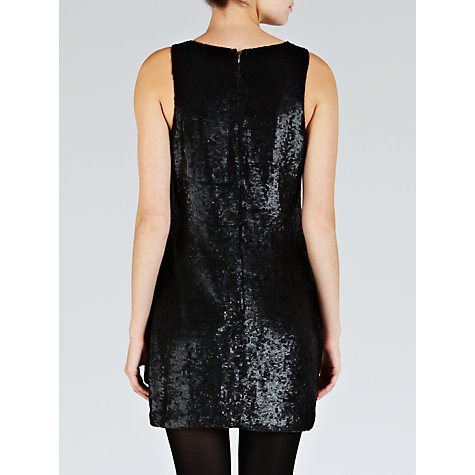 Buy Needle & Thread Studded Contour Dress, Black Online at johnlewis.com