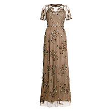 Buy Needle & Thread Tulle Maxi Dress, Stone Online at johnlewis.com