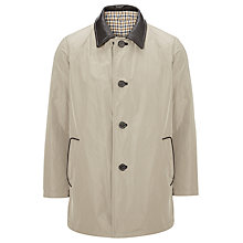 Buy Aquascutum Reversible Quilted Jacket, Khaki Online at johnlewis.com