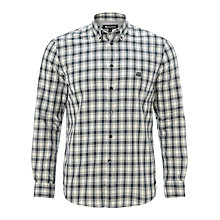 Buy Aquascutum Flannel Shirt, Grey Online at johnlewis.com