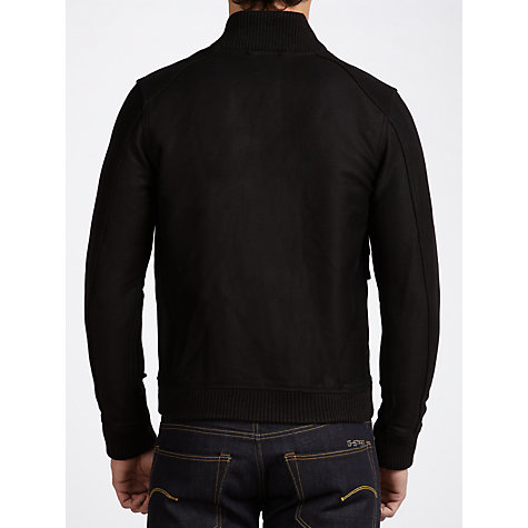 Buy G-Star Raw Utility Bomber Jacket, Black Online at johnlewis.com