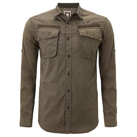 Buy G-Star Raw Duke Military Shirt Online at johnlewis.com
