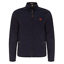 Buy Pretty Green Kingsway Harrington Jacket, Navy Online at johnlewis.com