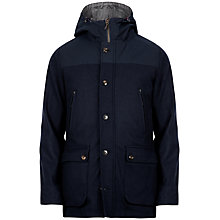 Buy Ted Baker Masood Hooded Gilet Jacket, Navy Online at johnlewis.com