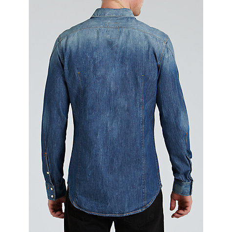 Buy G-Star Raw Arc Denim Shirt, Medium Aged Online at johnlewis.com