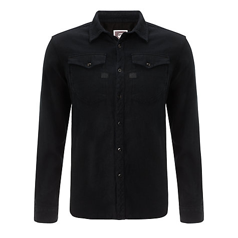 Buy G-Star Raw Tacoma Shirt, Black Online at johnlewis.com