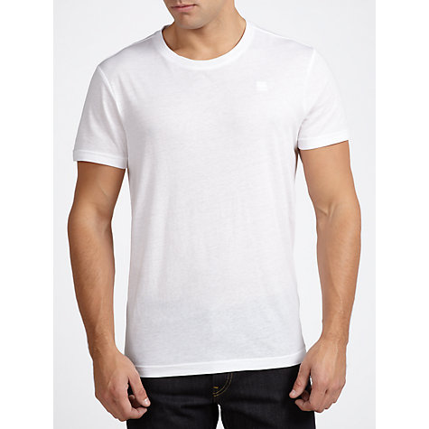 Buy G-Star Raw 2 Pack Cotton Base Layer T-Shirts Online at johnlewis.com