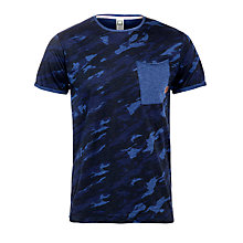 Buy G-Star Raw Comrade T-Shirt, Imperial Blue Online at johnlewis.com