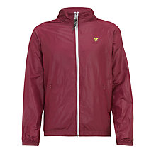 Buy Lyle & Scott Festival Jacket, Berry Online at johnlewis.com
