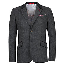 Buy Ted Baker Twell Wool Blazer, Charcoal Online at johnlewis.com