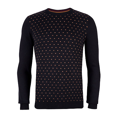 Buy Ted Baker Piptop Jumper, Navy Online at johnlewis.com