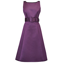 Buy Phase Eight Valerie Dress, Aubergine Online at johnlewis.com