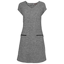 Buy Phase Eight Travis Boucle Dress, Charcoal Online at johnlewis.com