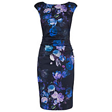 Buy Phase Eight Petula Dress, Black/Blue Online at johnlewis.com