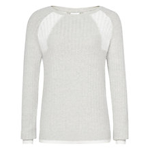 Buy Reiss Creilia Jumper, Neutral Online at johnlewis.com