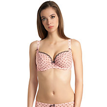 Buy Freya Patsy Underwired Half Cup Bra, Ballet Pink Online at johnlewis.com