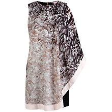 Buy Ted Baker Rosette Print Tunic, Ecru/Black Online at johnlewis.com