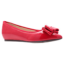 Buy Nine West Jowhona3 Pumps, Red Online at johnlewis.com