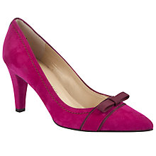 Buy Peter Kaiser Vermala Court Shoes, Pink Online at johnlewis.com